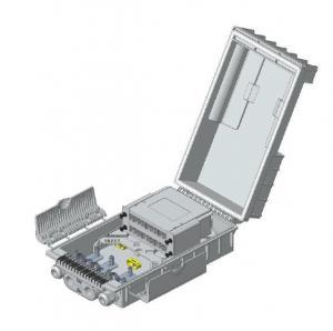 Buy cheap Lightweight FTTH Fiber Optic Terminal Box Outdoor Plastic Splitter Cassette 1x8 from wholesalers