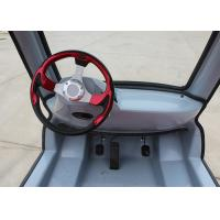 Max 7 Km/H Electric Tour Bus , 24 V Steering Wheel Electric Tourist Vehicles Manufactures