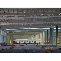 Buy cheap Anti Earthquakes Z Shaped Q235 Prefabricated Steel Warehouse Construction from wholesalers