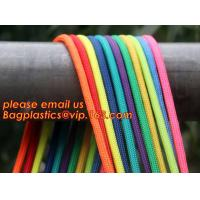 Best quality Green amusement equipment polyester rope 5mm nylon braided rope Manufactures