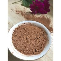 NF02 Dark Brown Natural Low Fat Cocoa Powder 4%-8% Fat Content , 5.0-5.8 PH Value Manufactures