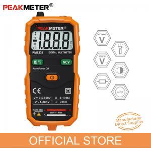 2000 Counts  NCV Frequency Backlight Temperature Transistor Smart Mini Digital Multimeter Manufactures