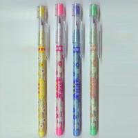 Plastic Multi - Head Bullet Push Pencil With Eraser Topper For Kids Manufactures