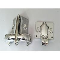 Corner Coffin Ornaments With PP Plastic Material , Funeral Accessories Manufactures