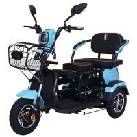Folding 60V 32Ah Battery Three Wheel Electric Scooter Manufactures