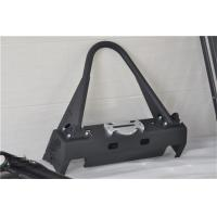 Aluminum / Steel Jeep Wrangler Front Bumper With Black Powder Coated Steel Manufactures