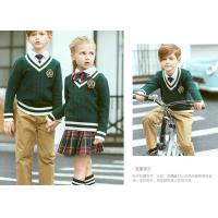 Buy cheap Breathable OEM Design Boy And Girl School Dress Sweater European Style V Neck from wholesalers