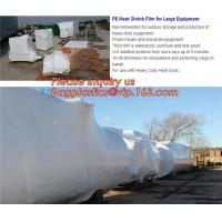 biodegradable shrink wrap 200 mic construction industrialJumbo construction industrial uv shrink wrap for yacht covering Manufactures