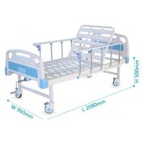 One Function Medical Hospital Bed With Back Rest Adjustable 250kgs Loading Manufactures