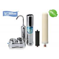 Buy cheap Household Ceramic Countertop Water Filter with 304 Stainless Steel Housing from wholesalers