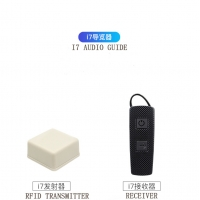 Buy cheap I7 Model Ears Hanging Wireless Tour Guide System RFID Signal from wholesalers