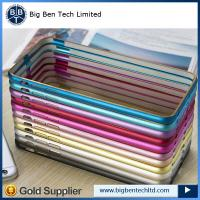 Buy cheap china supplier aluminum for iphone 6 bumper metal case 12 colors from wholesalers