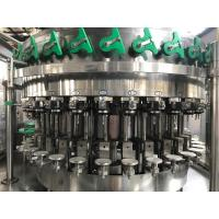 1.5kw 2500BPH Carbonated Soft Drink Filling Machine Manufactures