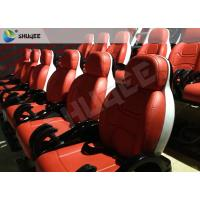 Burning Blood Exciting Motion Mobile 5D Cinema With Luxurious Armrest Seats Two Years Warranty Manufactures