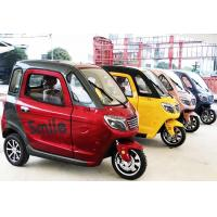 Silent Enclosed 1500W Passenger Electric Tricycle Manufactures