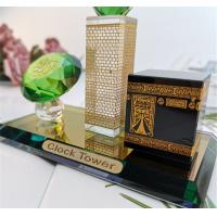 Eid Mubarak Islamic Muslim Ramadan Festival Crystal Decoration Keel Kaaba Architectural Model Manufactures