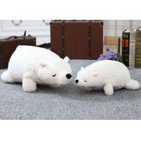Stuffed Animal Plush Toys 70cm Size 0.8kg Pure White Teddy Bear Soft Toy Manufactures