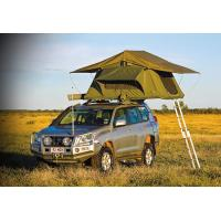 Customized Pop Up Roof Top Tent , Aluminum Pole Roof Rack Mounted Tent Manufactures