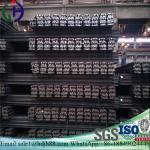 High Durability Railroad Steel Rail Tensile Strength 880MPa Min 12m Or 12.5m Manufactures