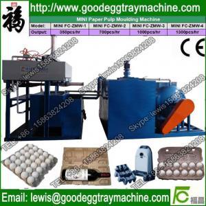 China pulp egg tray molding machine on sale