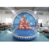 0.8mm Transparent Inflatable Snow Globe Photo Booth Manufactures