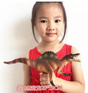 Customized Dinosaur Model Toys L28*W7.5*H13 Plastic Jurassic Park Spinosaurus Toy Manufactures