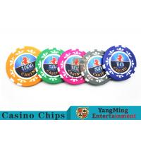 High Precision Casino Poker Chip Set / Poker Table Set For Gambling Games Manufactures