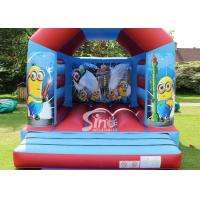 Commercial Children Inflatable Jumping Castles With Despicable Me Theme Manufactures