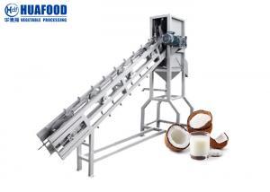7.5kw Coconut Husk Fiber Machine Coconut Cut Half Juicer Machine Manufactures