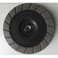Buy cheap 100 - 180 mm diameter Diamond Ceramic Bond Egding Cup Wheel For Concrete from wholesalers
