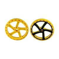 H13 Two Color Multi Material Injection Molding POM Toy Car Wheels 1*2 Cavity Manufactures