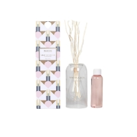 Buy cheap Natural Elegant Container 3.4oz Room Mimosa & Rose Scents Reed Diffuser Luxury from wholesalers