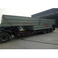 Electronic Weighbridge / Steel Deck Weighbridge 6mm Thick Strong U Shaped Structure Manufactures