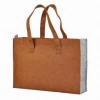 shopping bag, made of felt, available in various colors Manufactures