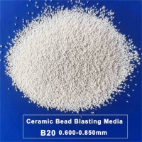 Buy cheap Micro Beads Ceramic Blasting Media B20 0.850mm For 3C Metal Surface Finish from wholesalers