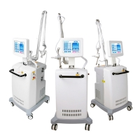 Rf Tube Wrinkle 10.4 Inch Fractional CO2 Laser Machine Manufactures