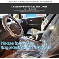 Biodegradable Compost Car Floor Mat Auto Disposable Steering Wheel Seat Cover Interior Accessories Steering Tire Bags Manufactures