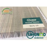 Horse Tail Woven Interlining Fabric For Uniform And Business Casual Suits Manufactures