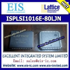 Buy cheap ISPLSI1016E-80LJN - LATTICE - In-System Programmable High Density PLD from wholesalers