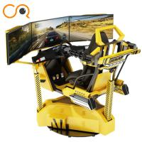 Realistic Crazy Car VR Racing Simulator With Electric Cylinder System Manufactures