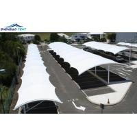 Buy cheap Steel Frame Tensile Structure Buildings / Tension Membrane Structures from wholesalers