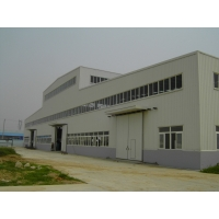 Fast Assembly 0.8mm Sheet Galvanized Seismic Steel Workshop Manufactures