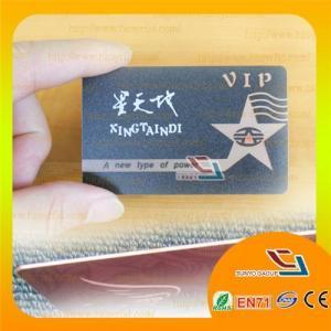 Buy cheap Matt Finish Plastic Membership Card from wholesalers