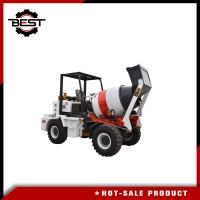 Buy cheap Mini Automatic Mobile Concrete Mixer Truck For Building Foundation Construction from wholesalers