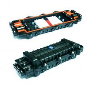 Splice Inline 4 Port Fiber Joint Enclosure Box IP Rated 96 Fibre PC Material Manufactures