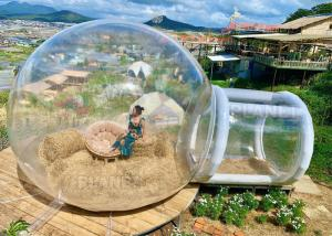 2m Tunnel  Inflatable Bubble Dome Tent With Blower Manufactures