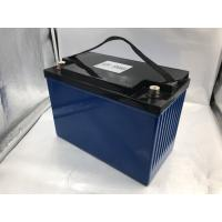 12V Lifepo4 Lithium Battery 10 - 14.6VDC Voltage Range Solar Battery System Manufactures