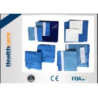 Buy cheap PP+PE Disposable Surgical Packs For Knee Arthroscopy Single Use EO sterille from wholesalers
