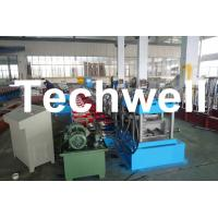 C Purlin Forming Machine / Cold Roll Forming Machine with Gearbox Drive for Steel C Purlin Manufactures