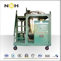 Buy cheap Low Noise Hydraulic Oil Filtration Machine For Engine Oil Treatment Industrial from wholesalers